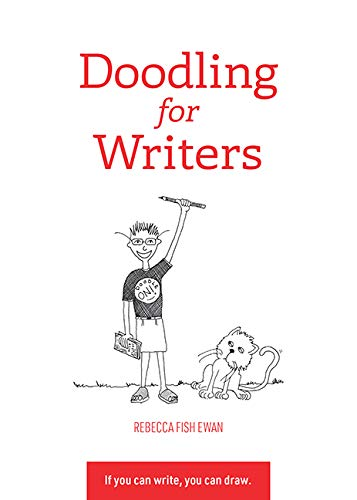 Cover of Doodling for Writers by Rebecca Fish Ewan