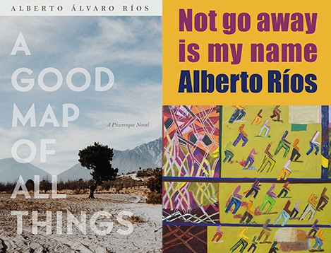 Cover images of books by Alberto Rios