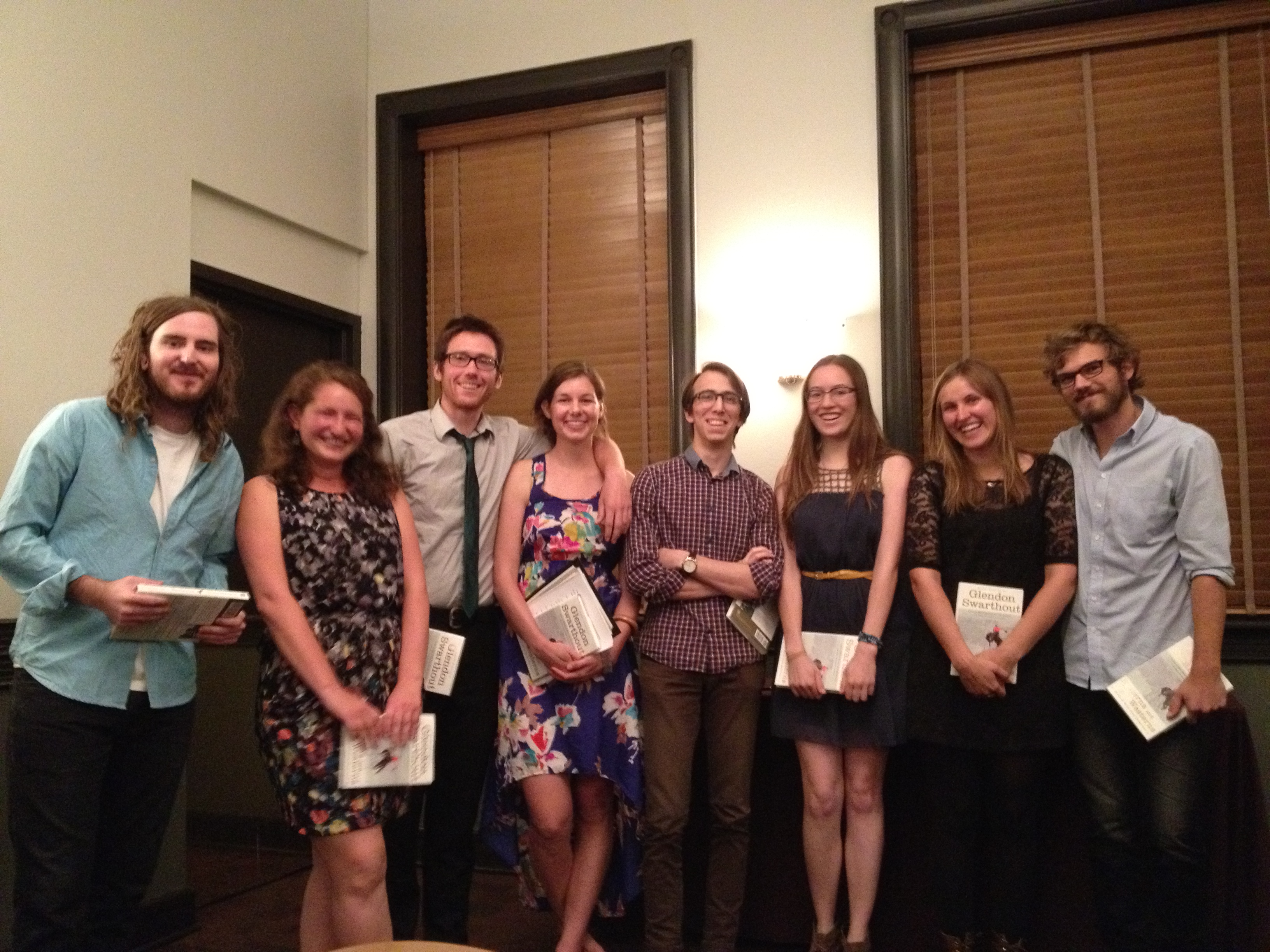 Winners of the Swarthout Awards in 2013
