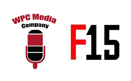 """Image: Each podcast team created its own """"logo"""" to represent its fictious producing company."""