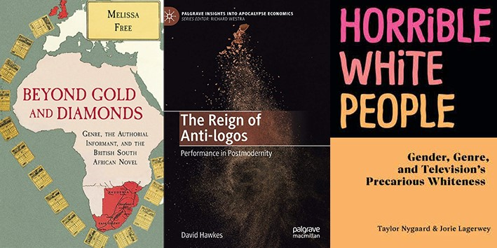 Covers of books by ASU's Melissa Free, David Hawkes and Taylor Nygaard.