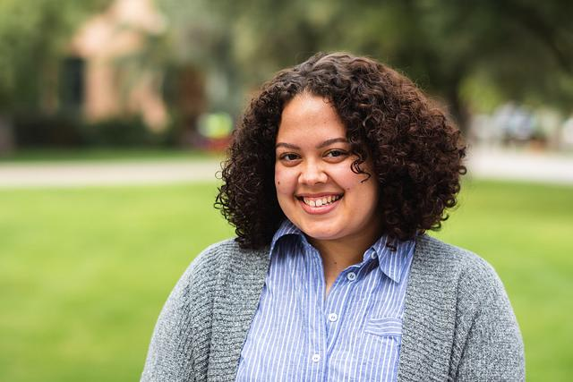 Zoe Harrison, the fall 2018 CLAS Dean's Medalist for the Department of English / ASU photo
