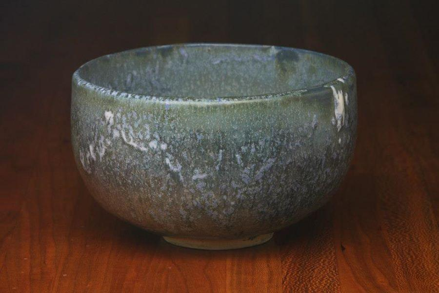 """Image of """"Snow on the Mountains"""" bowl by Andrea Dickens / Courtesy photo"""