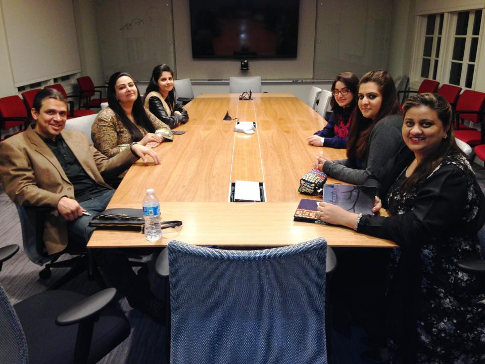Spring 2015 Pakistani scholars at ASU / Photo courtesy Claudia Sadowski-Smith