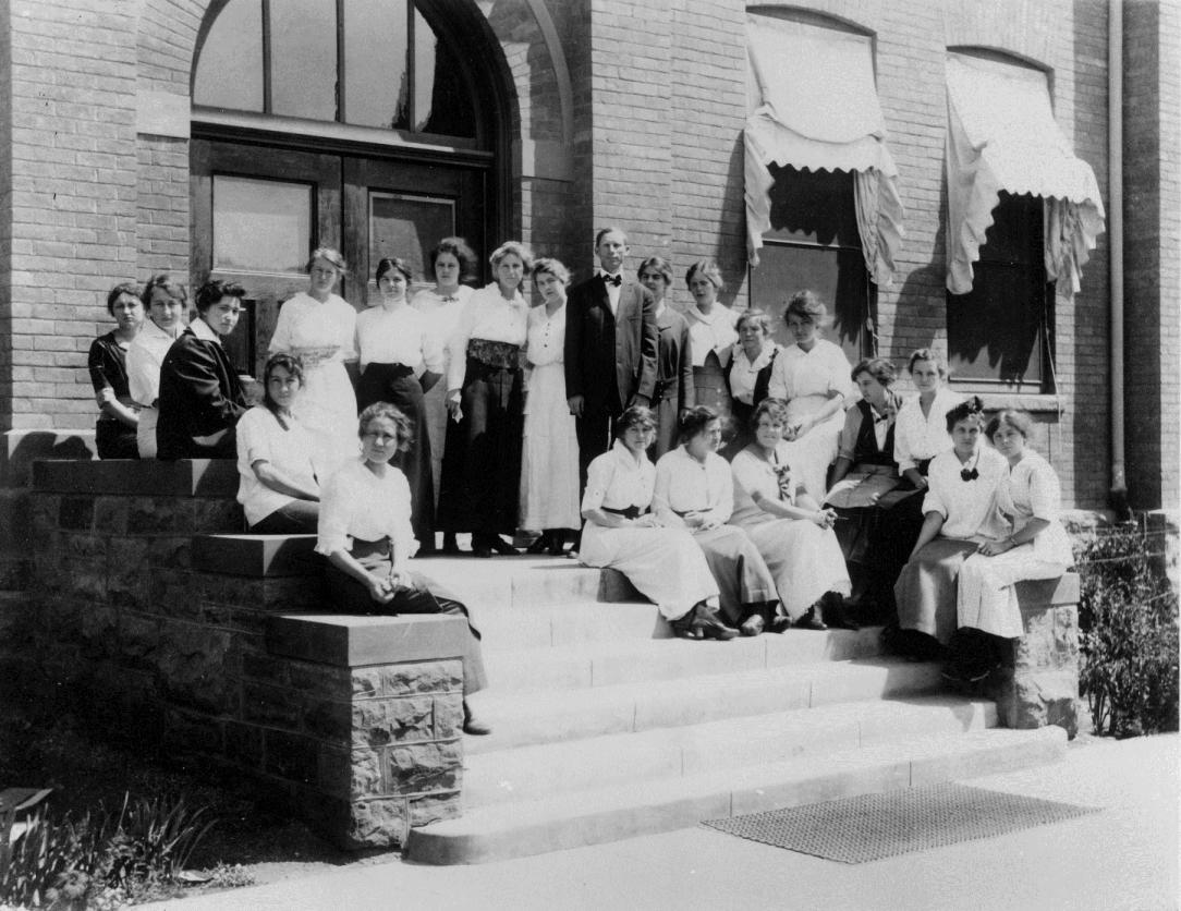 James Lee Felton and Students, ca. 1920s