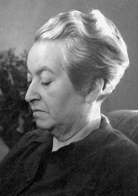 Gabriela Mistral, photo by Anna Riwkin (1908-1970)