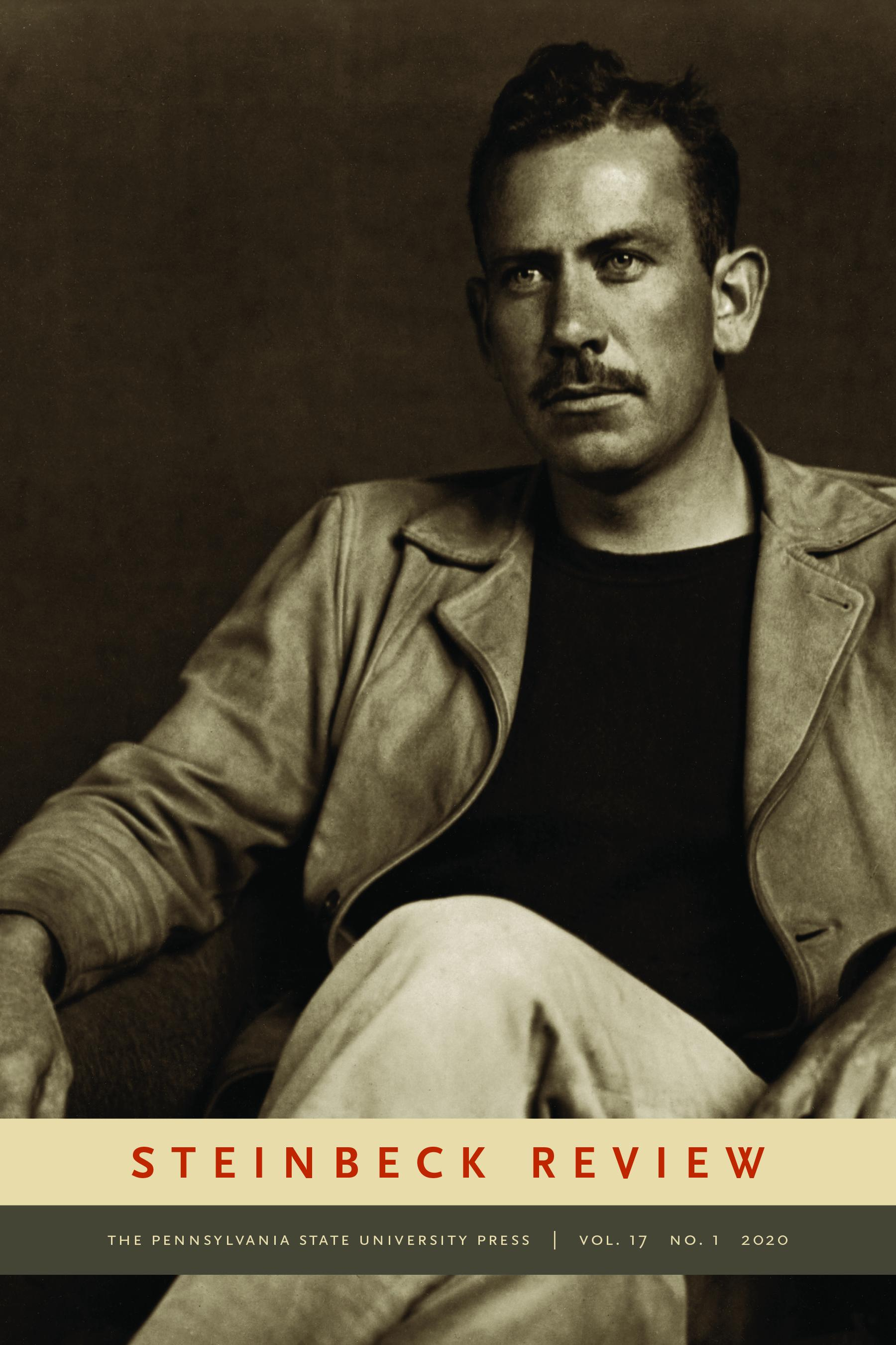 Image of cover of spring 2020 issue of Steinbeck Review