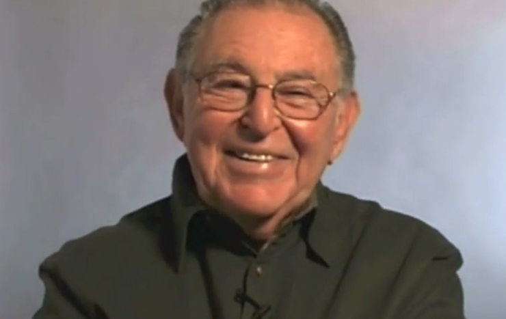 Screenshot of the late ASU emeritus professor Marvin Fisher, from an ASU Retirees Association video.