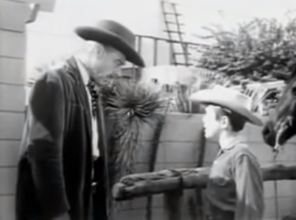 "Screenshot from an episode of ""26-men"" series. / Video credit Western Films on YouTube"