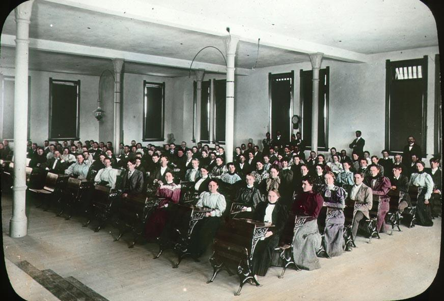 Study hall in Old Main