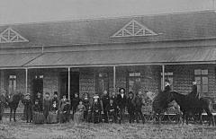 ASU Original Building, Opening Day 1886
