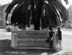 Philomathian Bench, 1934