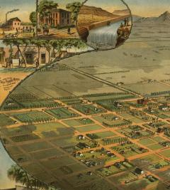 1885 map of Phoenix, AZ / In public domain